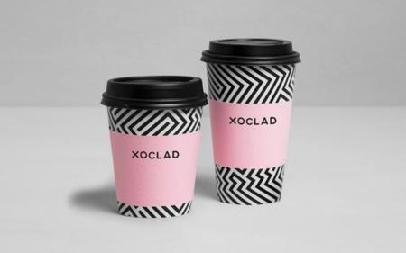 grafismo pastelería Xoclad de Anagrama