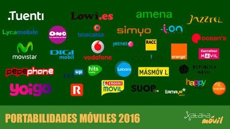 Portabilidades 2016: el peor año de los OMVs desde 2011 se salda con Orange como vencedor