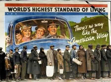 People Standing In Line Louisville, Kentucky 1939