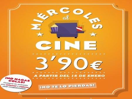 Yelmo y Cinesa: los miércoles nos vamos al cine ¡Por 3,90 euros!