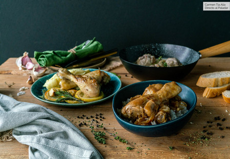 Jamoncitos de pollo: tres ideas rápidas y fáciles para solucionar la comida en un santiamén (con vídeo incluido)