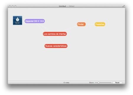 Scapple, sencilla aplicación para crear mapas mentales y más en OS X
