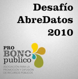Desafío AbreDatos 2010, interesante iniciativa para la difusión de datos públicos