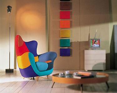Muebles llenos de color: Los muebles amorosos Chair
