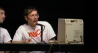 La primera demo del Macintosh para el público en vídeo