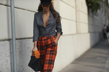 Los pantalones a cuadros son el nuevo culotte