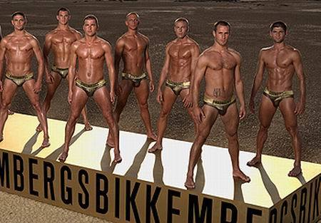 Bikkembergs y sus calzoncillos dorados