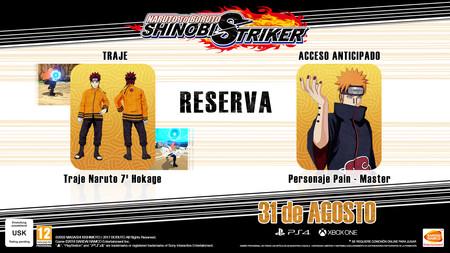 Naruto To Boruto Shinobi Striker Reserva