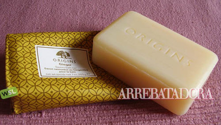 Jabón de baño Origins de jengibre, sensualidad y cuidado para tu piel