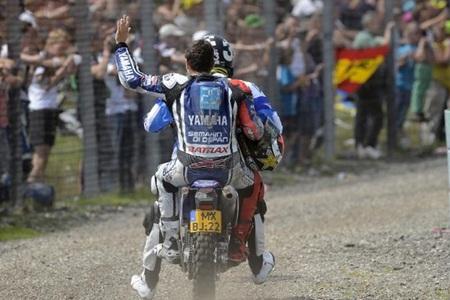 MotoGP Holanda 2012: Jorge Lorenzo estalla mientras que Álvaro Bautista saldrá el último en Sachsenring
