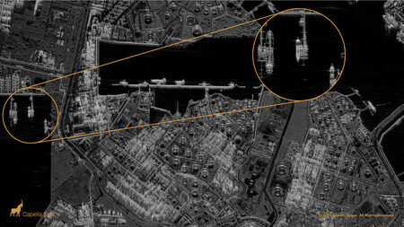Capella Space Spot Image Juorng Island Singapore