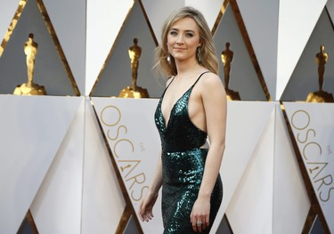 El look más sexy de Saoirse Ronan en los Oscar 2016