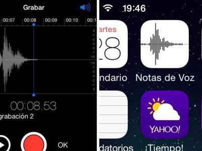 El secreto del icono de la app Notas de voz