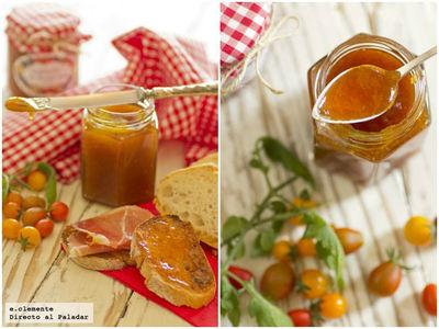 Confitura de tomates cherry a la vainilla. Receta