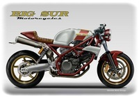 Big Sur 650 de BIG SUR Motorcycles by Oberdan Bezzi