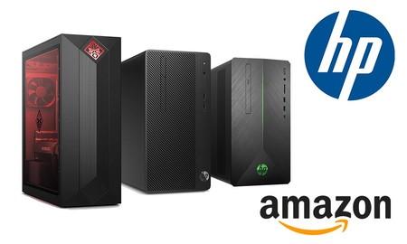 Ofertas en ordenadores de sobremesa HP: Amazon tiene ahora varios modelos a precios mucho más interesantes