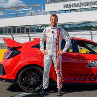 Jenson Button cierra el círculo con un nuevo récord del Honda Civic Type R: esta vez, en Hungaroring