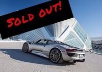 Porsche 918 Spyder: Agotado