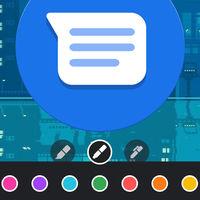 Google Mensajes ya permite dibujar y añadir textos a las imágenes antes de compartirlas