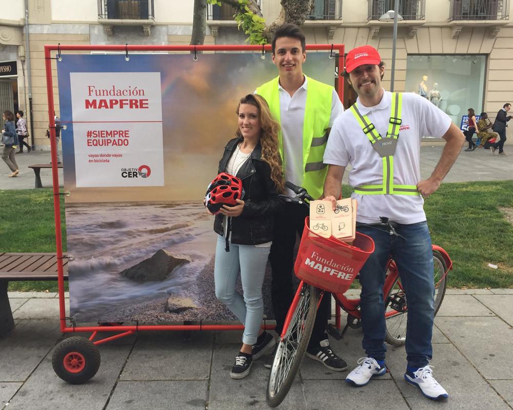 El programa 'Objetivo Cero' cuenta entre sus oacciones lograr cero accidentes en bici con acciones responsables, que ayuden a prevenir los accidentes.