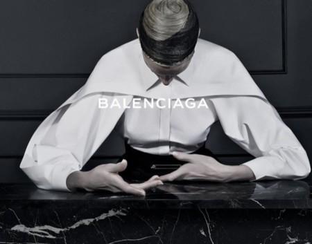 La primera campaña de Alexander Wang para Balenciaga con Kristen McMenamy