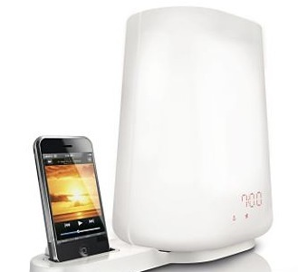Philips Wake-up Light HF3490 viene ahora con compatibilidad con iPod