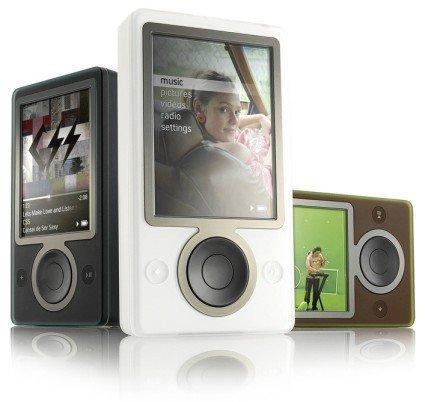 Por qué el Zune no triunfará frente al iPod