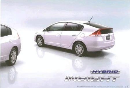 Honda Insight Catálogo