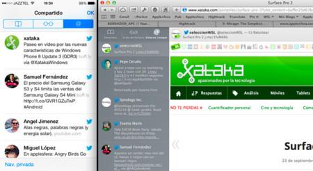 Enlaces compartidos, una función de Safari en iOS 7 poco conocida y usada