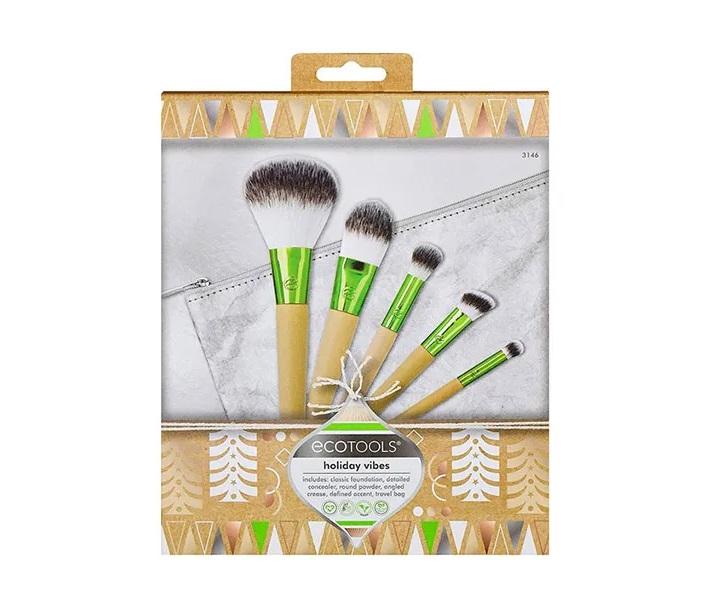 Pack de brochas de maquillaje ecológicas de Ecotools