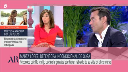 Ana Rosa Quintana Olga Moreno