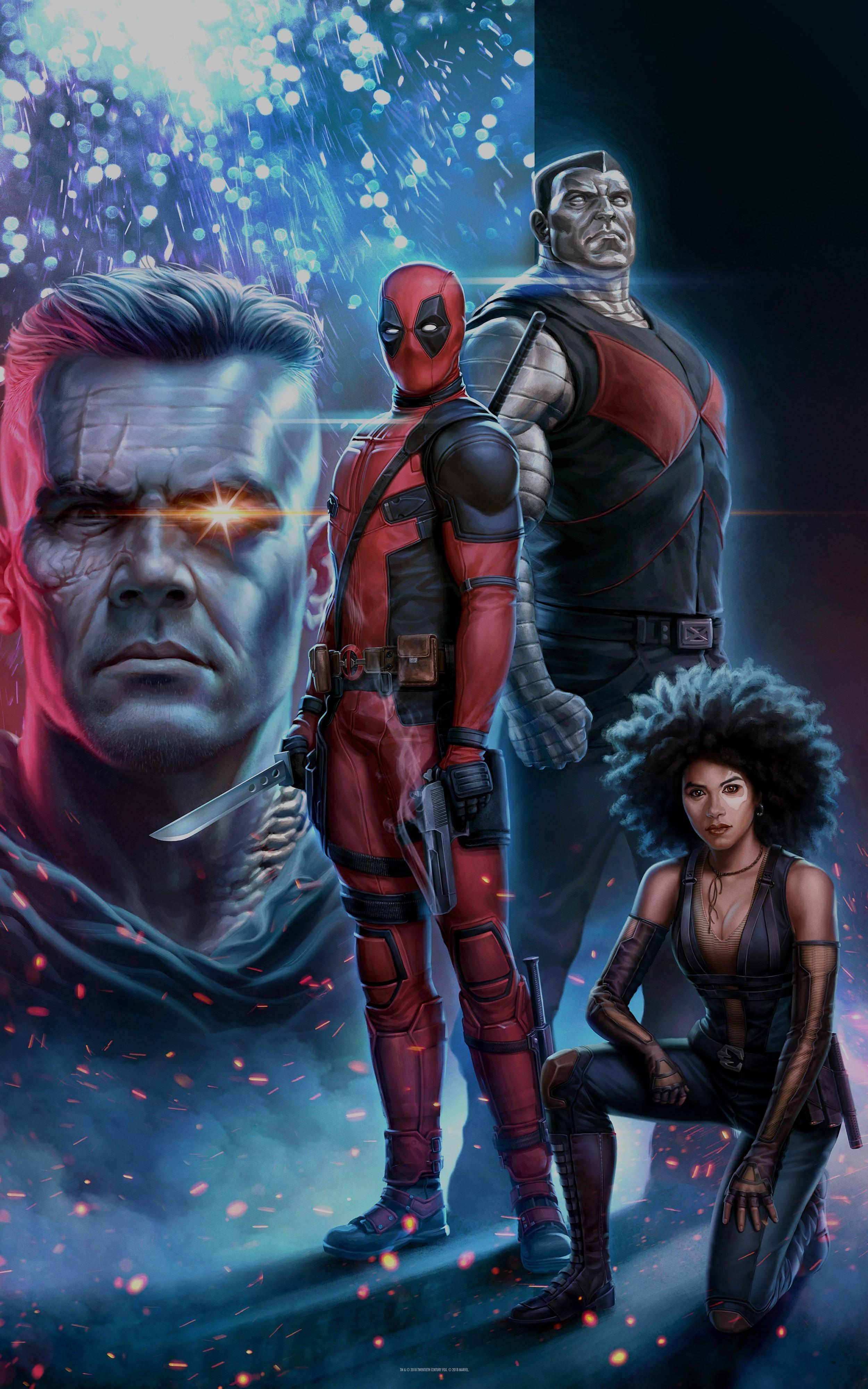 Foto de Fondos de pantalla Deadpool (2/14)