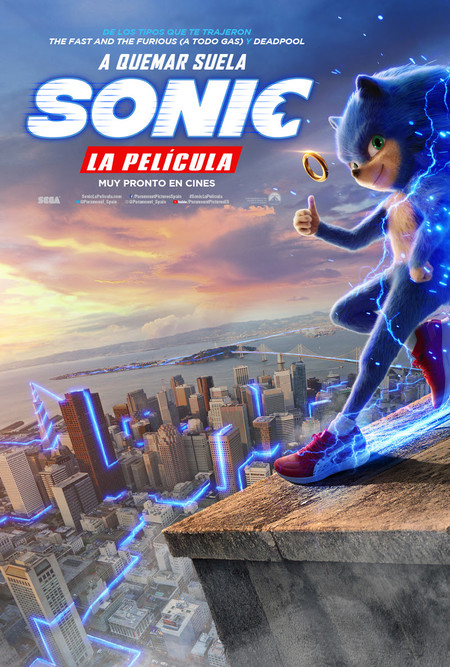 Poster English Sonic