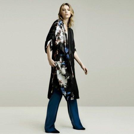 Oriental lookbook mayo de Zara
