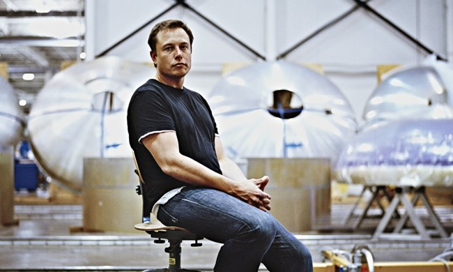 Elon Musk At Space X Head 009