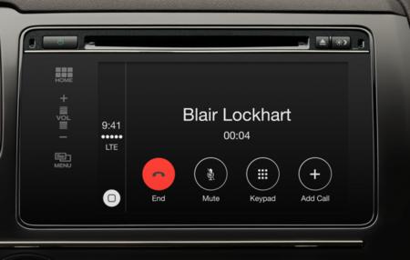 Apple Carplay llamadas