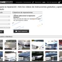 En esta web puedes ver vídeos instructivos sobre cómo reparar casi cualquier marca de coche