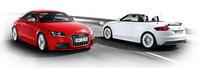 Vídeos y sitio web del Audi TTS