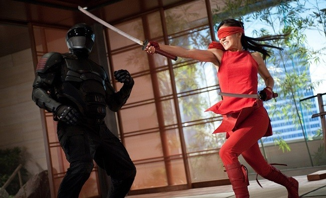 Escena de combate de 'G.I. Joe: La venganza'