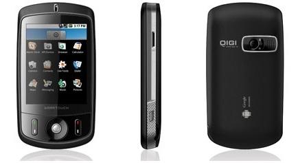 QiGi i6, con Android y Windows Mobile