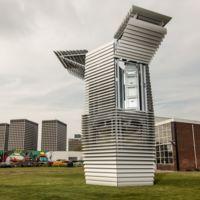 Este enorme purificador de aire es capaz de transformar el smog en piezas de joyería