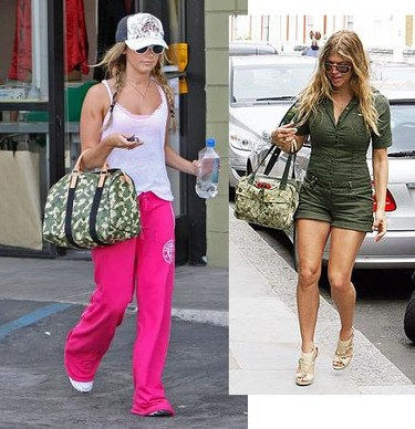 Bolso Monogramouflage de Louis Vuitton: ¿Ashley Tisdale o Fergie?