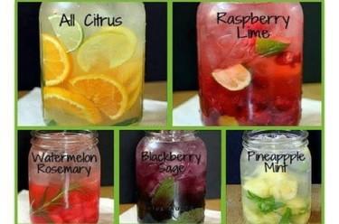 Las aguas vitaminadas: refrescos muy naturales y sanos