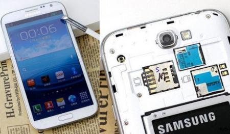 Samsung Galaxy Note II con dual-SIM en producción para el mercado chino