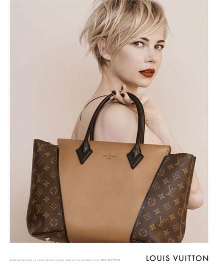 Michelle Williams y sus labios en rojo protagonistas de la nueva campaña de Louis Vuitton