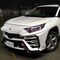 """Si tienes 54 mil pesos, hay quien transformará a tu Toyota RAV4 en un """"Lamborghini Urus"""""""