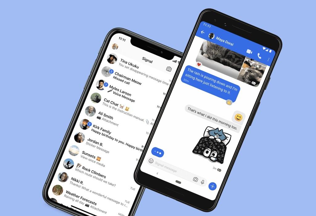 Signal añade los pagos privados mediante criptodivisas a su apps de mensajería