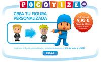 Pocoyize 3D: crea una figura real personalizada con el aspecto de Pocoyó