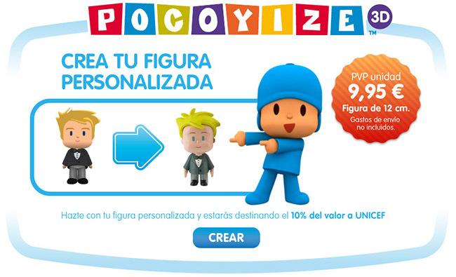 Pocoyize 3D