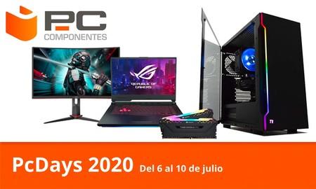 Las ofertas del día en los PcDays 2020 de PcComponentes: equipos y componentes gaming a los mejores precios